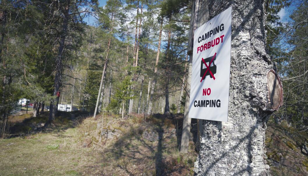 KLAR MELDING, ELLER…? Allemannsrettengjelder uavhengig av hvem som er grunneier, men det finnes noen regler du må forholde deg til hvis du vil campe.