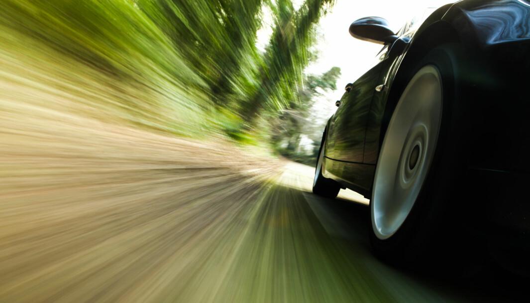 ULIKE FARTSANSLAG: Maks 30, mente den unge sjåføren. Minst 90, hevdet forsikringsselskapet.