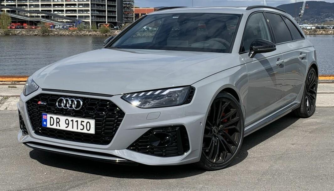 PORSCHE-SAMARBEID: Audi planlegger helelektrisk drivlinje på etterfølgeren til dagens RS4.