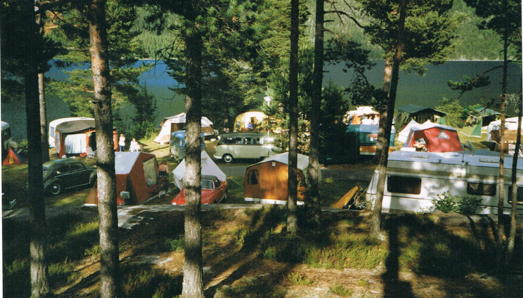 "<span class=""font-weight-bold"" data-lab-font_weight_desktop=""font-weight-bold"">SKOGSCAMPING: </span>I 20 år har Norsk Veteran Camping arrangert treff for folk med dragning mot godt, gammeldags campingutstyr."