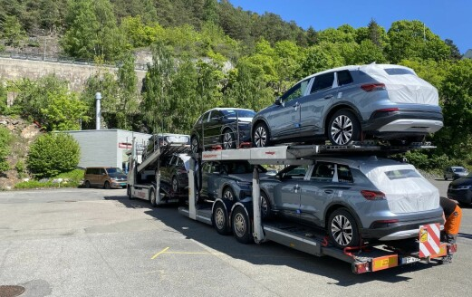 Nå ruller Audi Q4 til kamp blant folke-SUV-ene