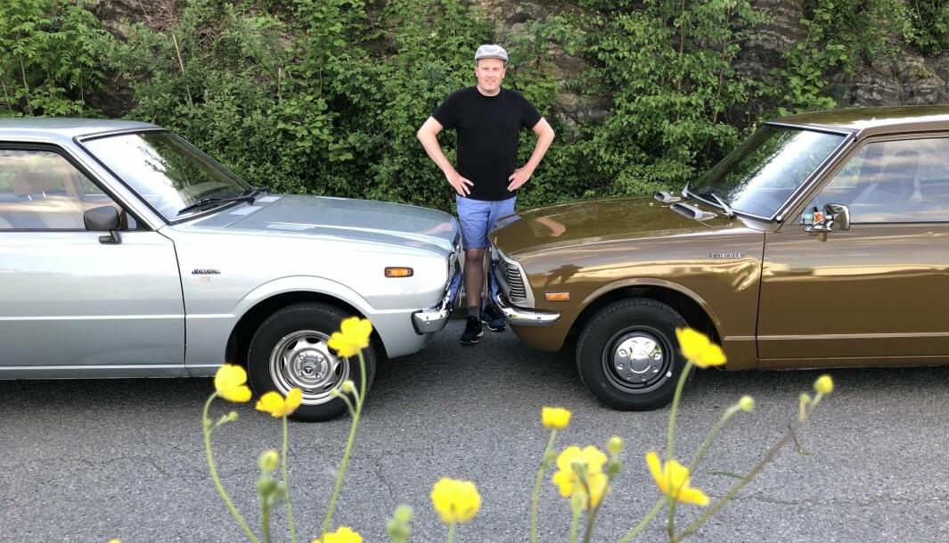 """<span class=""""font-weight-bold"""" data-lab-font_weight_desktop=""""font-weight-bold"""">TO MÅ MAN VÆRE:</span> Ivar Andersen vokste opp med den ene Toyota Corollaen etter den andre og kan ikke annet enn innrømme at de har satt dype spor i sjelen."""