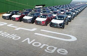 El-SUV-en med ny batteri- teknologi på vei til Norge