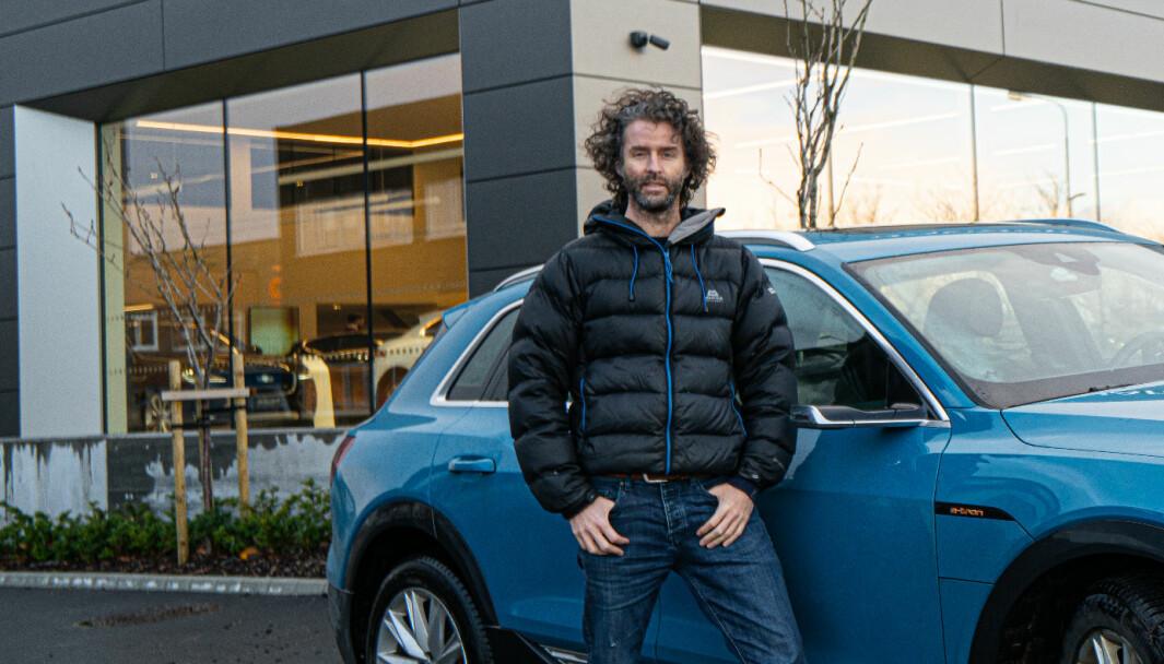 MÅ BETALE: Eirik Skjærseth må ut med enda mer penger til bilforhandleren sin.
