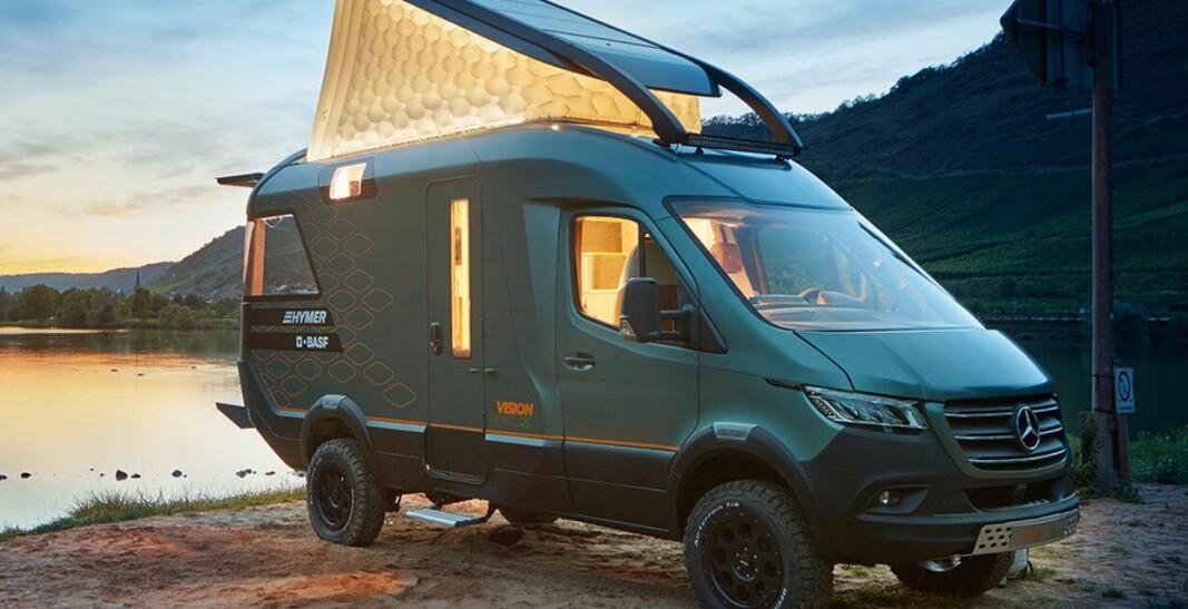 INSPIRASJONEN: Hymer viste konseptbobilen Hymer VisionVenture i 2019.
