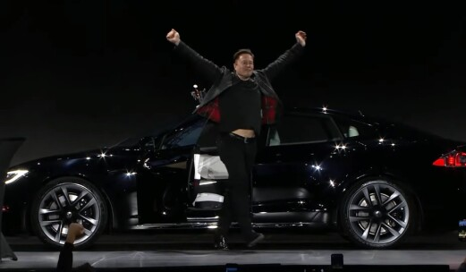Musk: – Derfor er det viktig å lage verdens raskeste bil