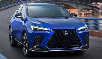 Lanserer ny Lexus med det beste fra RAV4