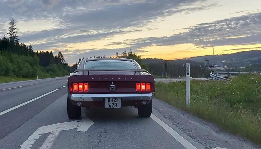 """<span class=""""font-weight-bold"""" data-lab-font_weight_desktop=""""font-weight-bold"""">ALLTID FORAN: </span>Ole Johnny Moland Hagen sliter veiene i Oppland så mye han kan i løpet av den korte sommeren."""