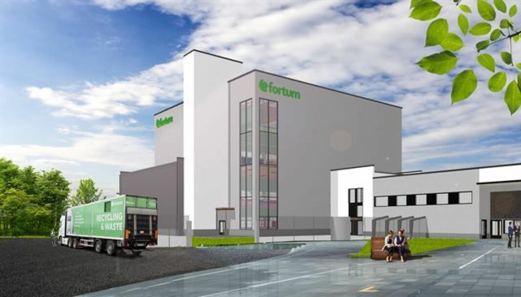 ÅPNER i 2023: Gjenvinningsanlegget skal etableres i Harjavalta, en liten by sørvest i Finland.