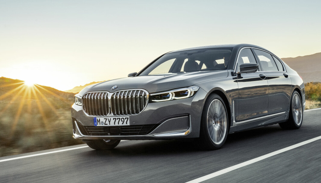 STRØMMER PÅ: Elbiler kommer i fleng fra BMW, snart også 7-serie.