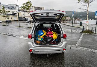 Disse bilene får overvekt – selv uten bagasje