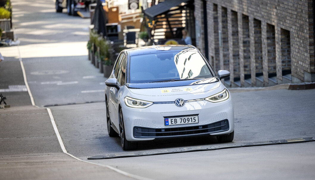 """<span class="""" font-weight-bold"""" data-lab-font_weight_desktop=""""font-weight-bold"""">LIKE EFFEKTIVE: </span>En VW ID.3 har varmepumpe som standard, og kompensasjonsordningen har ingenting med bilenes ytelser å gjøre."""