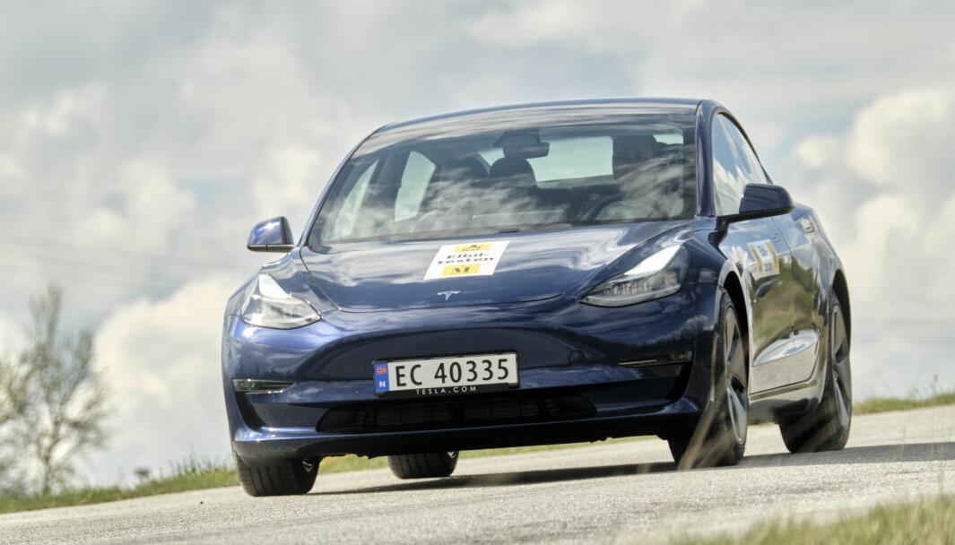 TOPPER I EUROPA: Tesla Model 3 ble bestselgeren i juni med over 26.000 registreringer – og nesten 70.000 i første halvår.