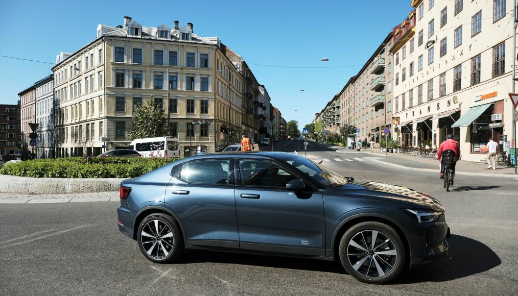 """<span class="""" font-weight-bold"""" data-lab-font_weight_desktop=""""font-weight-bold"""">NYE TIDER:</span> Polestar er et splitter nytt bilmerke, det gir også noe nye tjenester. Polestar 2 er solgt i over 5000 eksemplarer i Norge."""