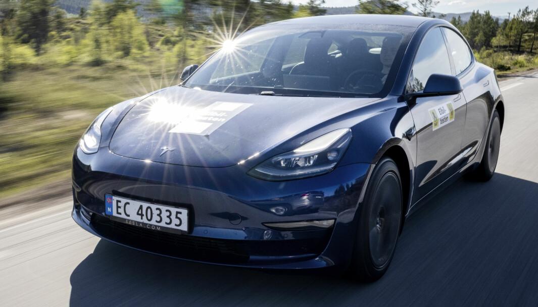 POPULÆR: Rundt 7000 Tesla Model 3 har fått EC-skilt. Nå er det snart tomt.