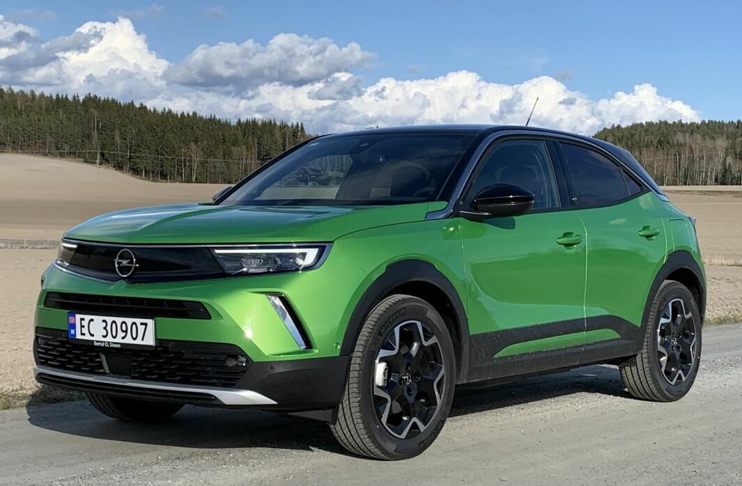 SIN EGEN STIL: Opel har funnet et designspråk som passer merket og som løfter det inn i en ny tidsalder også visuelt, med diskrete hint til stolte tradisjoner.