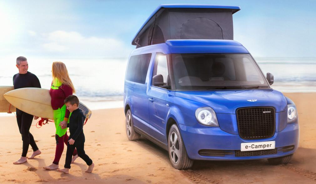 London-taxien blir campingbil