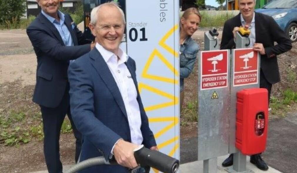 Sparker i gang hydrogensatsingen i Norge igjen
