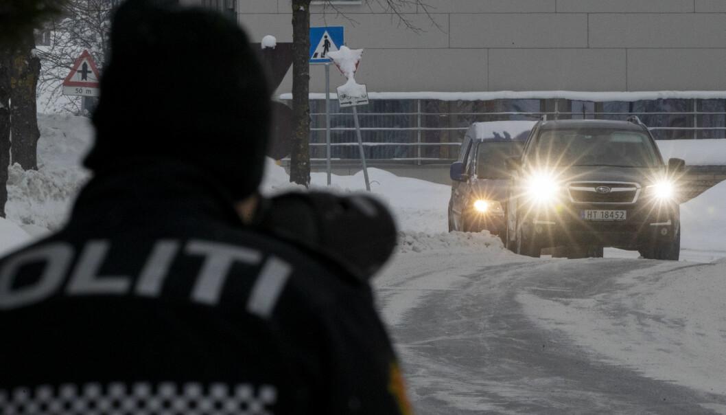 To bilister mobil-frikjent da politiet tapte