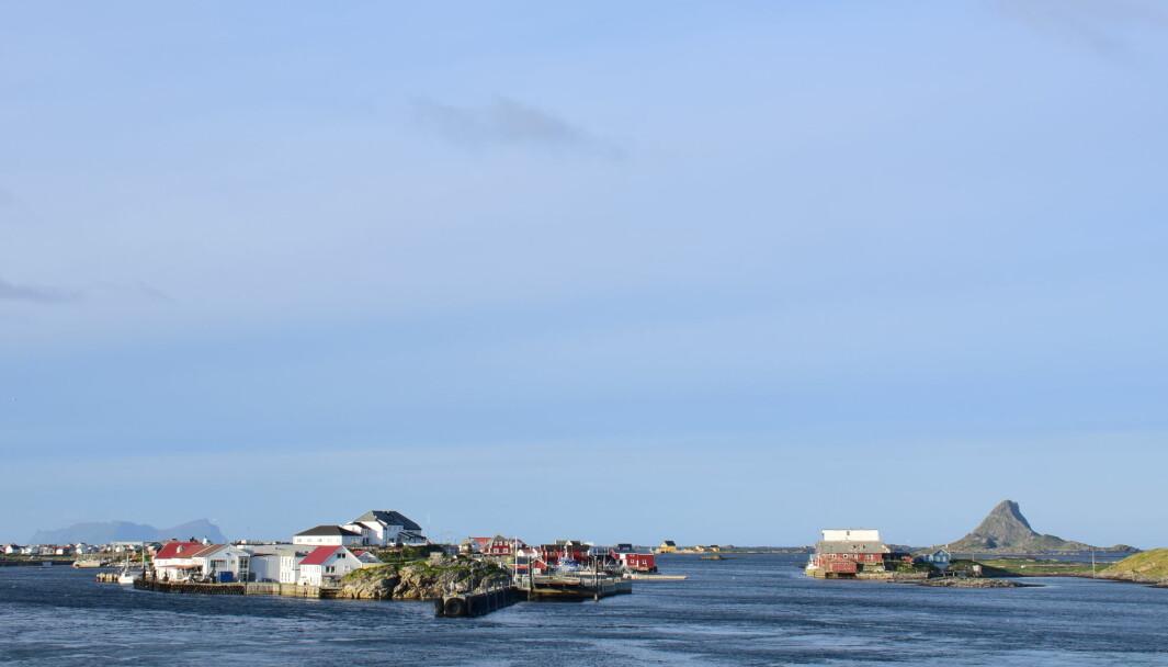 UNIKE ØYER: Havna på Røstlandet, hvor ferga fra Bodø anløper Lofotens sydligste øyer.