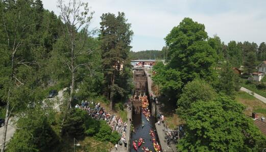 På kanaltur i Norge