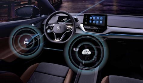 Nå starter VW med trådløs oppdatering av ID-bilene