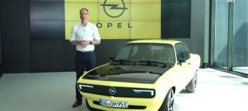 Opel gjenoppfinner sin klassiker og går helelektrisk