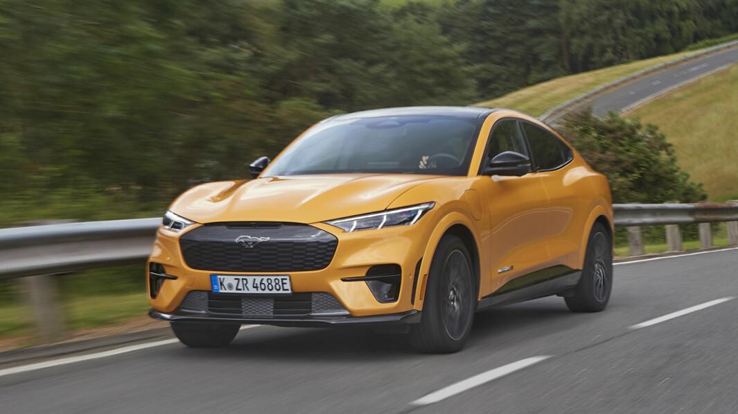 MER AV DETTE: Mustang Mach-E GT får selskap av flere elbiler hos Ford.
