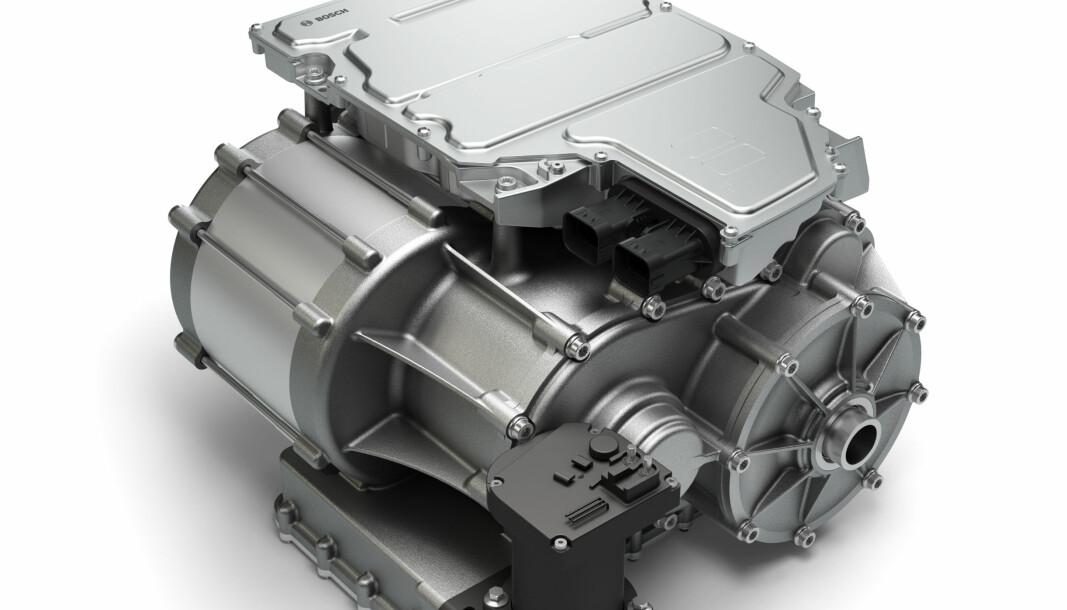 ELBIL-GIR: Med en trinnløs girkasse kan en elbil blant annet få bedre trekkraft.