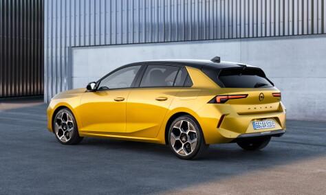 Ny generasjon av Opels Golf-rival elektrifiseres