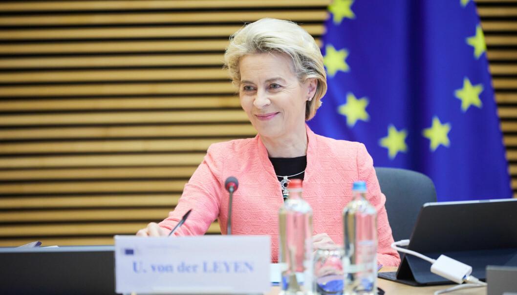 FIT FOR 55: EU-kommisjonens leder Ursula von der Leyen presenterte onsdag det hun betegnet som en historisk pakke med klimatiltak som skal gjøre det mulig å nå målet om å gjøre EU-landene klimanøytrale innen 2050.