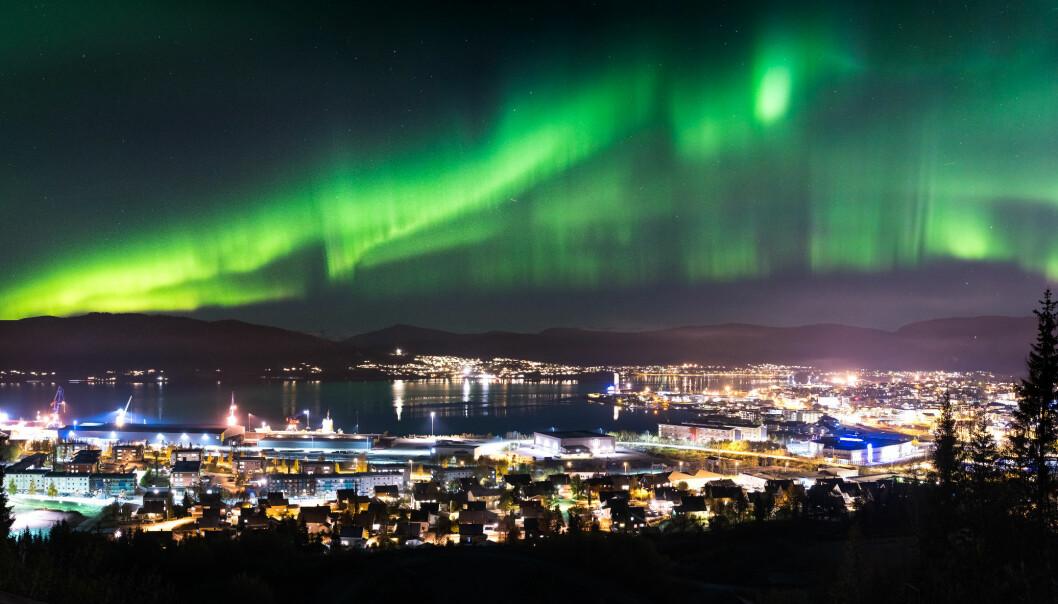 HER SKAL DET SKJE: Snart går teppet opp for et nytt industri-eventyr med Norges første gigafabrikk for elbil-batterier i Mo i Rana.