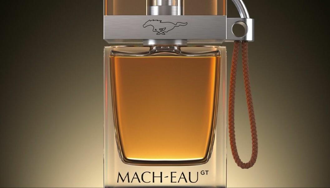 BENSINDUFT: Mach-Eau er utviklet av Ford, og skal lukte raffinert av bil.