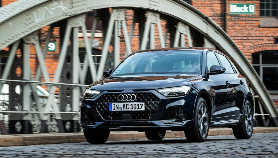 DEN SISTE: Audi A1 fikk for ikke så lenge siden en facelift. Nå er det besluttet at modellen skal vike plassen for elbil-satsingen.