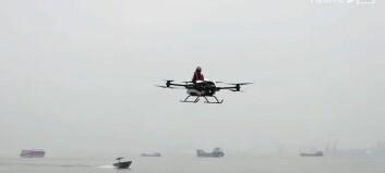Her kommer en flygende elbil