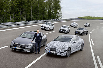 Bare elbiler for Mercedes – 1000 km rekkevidde i siktet