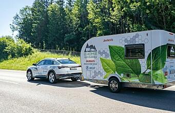 Slik reddes rekkevidden for elbiler med campingvogn