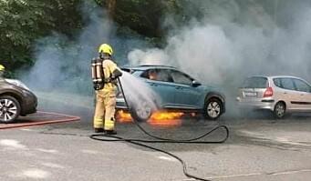 Er det blitt en epidemi av branner i elbiler?