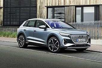 Ny firehjulsdrevet versjon av Audi Q4 e-tron