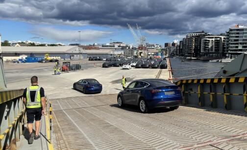 Her ruller de første Tesla Model Y på norsk jord