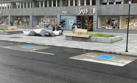 Nå testes trådløs elbil-lading midt i Oslo sentrum