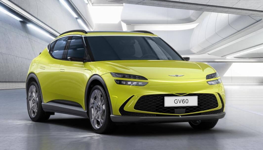 NY TEKNOLOGI: Denne modellen fra Hyundai-konsernet kommer med banebrytende lading.