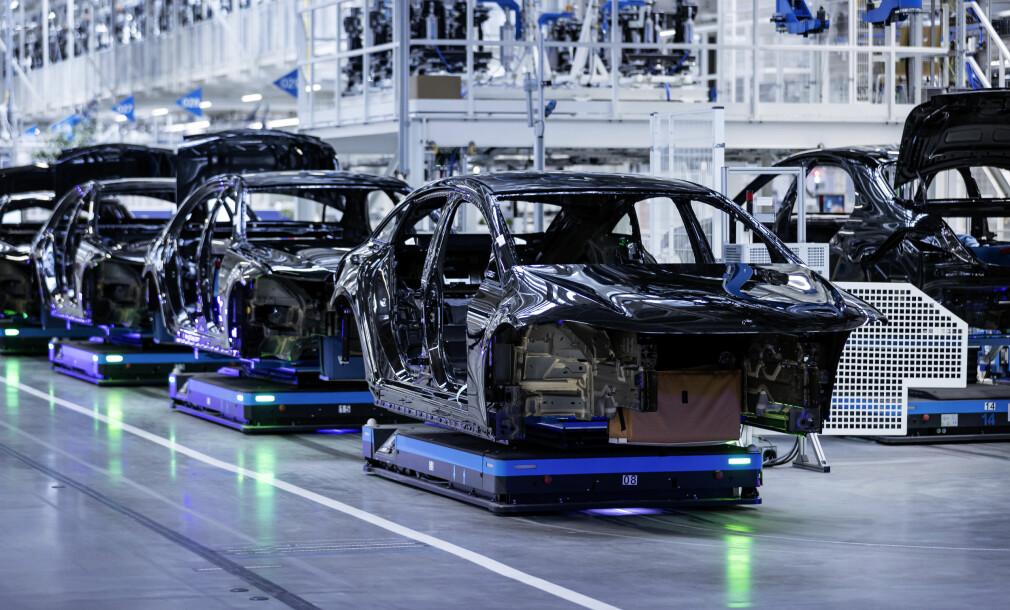 Laveste bilproduksjon på 60 år
