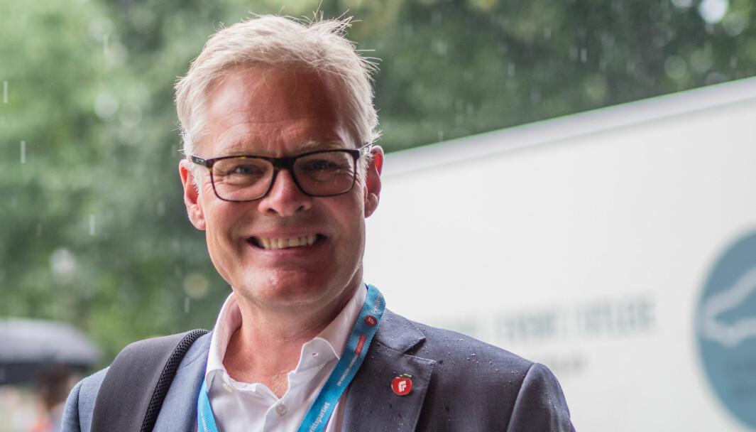 OM BILAVGIFTER: Hans Andreas Limi, finanspolitisk talsperson i FrP.
