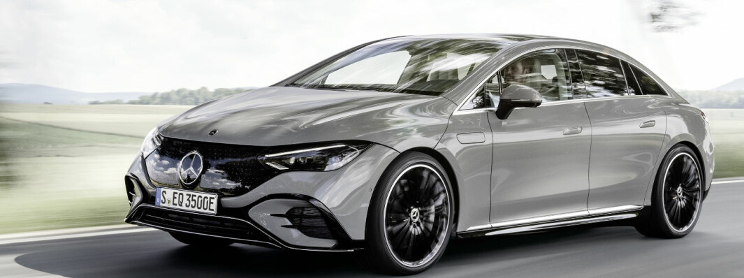 EQE neste i elektrisk Mercedes-bølge