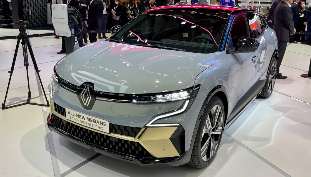VOILÀ: Med Megane E-Tech starter Renault utrullingen av en ny bølge elbiler.
