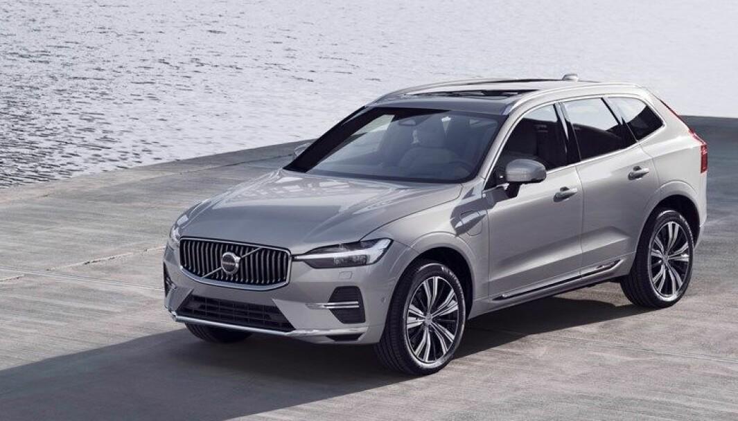 OPPGRADERT: Nordmenns favoritt blant Volvos ladehybrider, XC60, får nå kraftig forbedret rekkevidde.