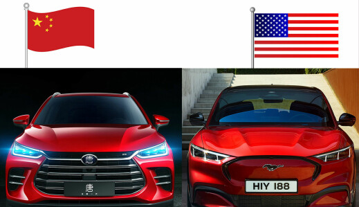 Slik har Tesla og kineserne plantet flaggene på norsk jord