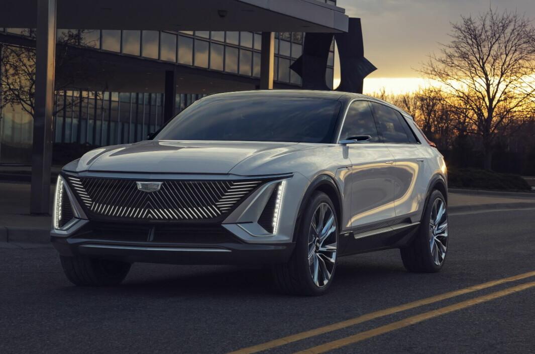 I LANSERINGSKØ: Cadillac Lyric skal komme i andre kvartal 2022.