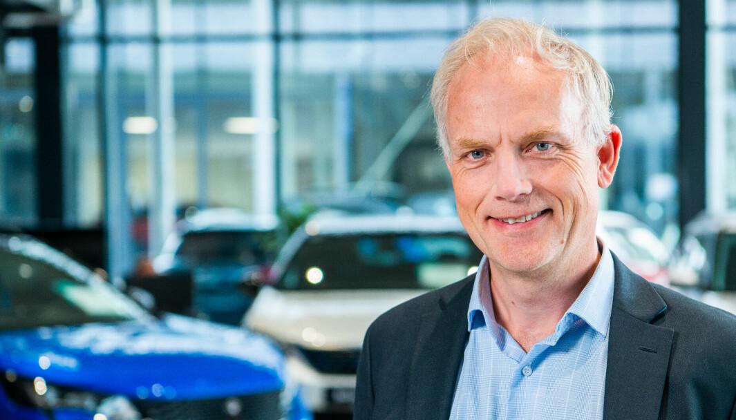 STELLANTIS-PARTNER: Harald Frigstad, konsernsjef i Bertel O. Steen.